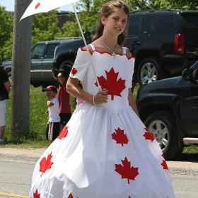 Celebrating Canada Day - Gorgeous Canadian Youth © channing